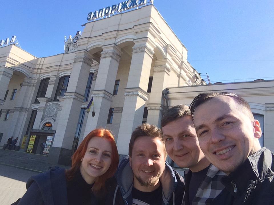 Поездка в Запорожье для проведения тренировки по прикладному айкидо