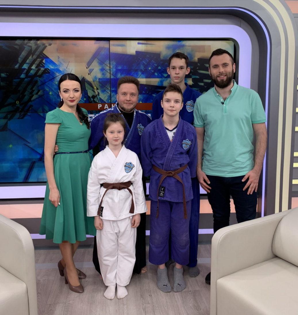 """Утренний эфир на телеканале """"Киев"""""""